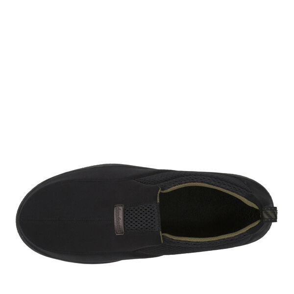 Rugged Microsuede Closed-Back Slipper