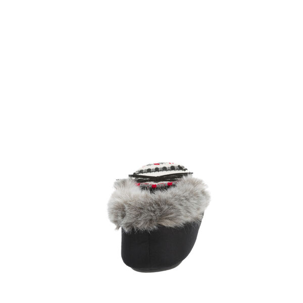 Chalet Moccasin Slipper with Novelty Vamp