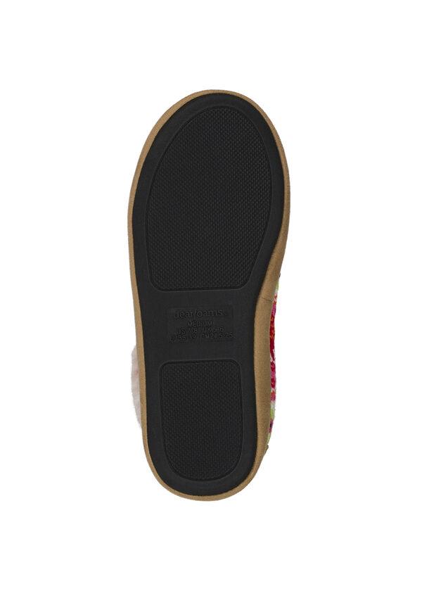Tall Patchwork Boot Slipper