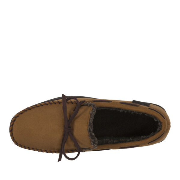 Microsuede Classic Moccasin Slipper with Laces