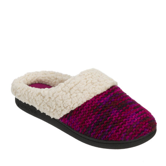 Space-Dye Knit Clog Slipper