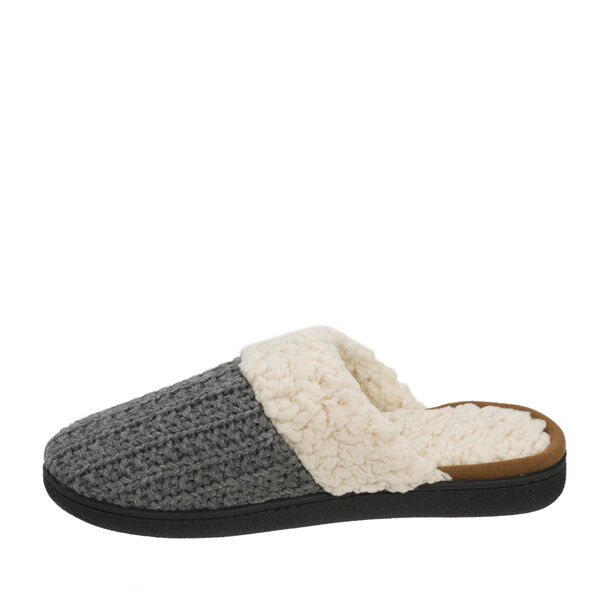 Cable Knit Scuff Slipper