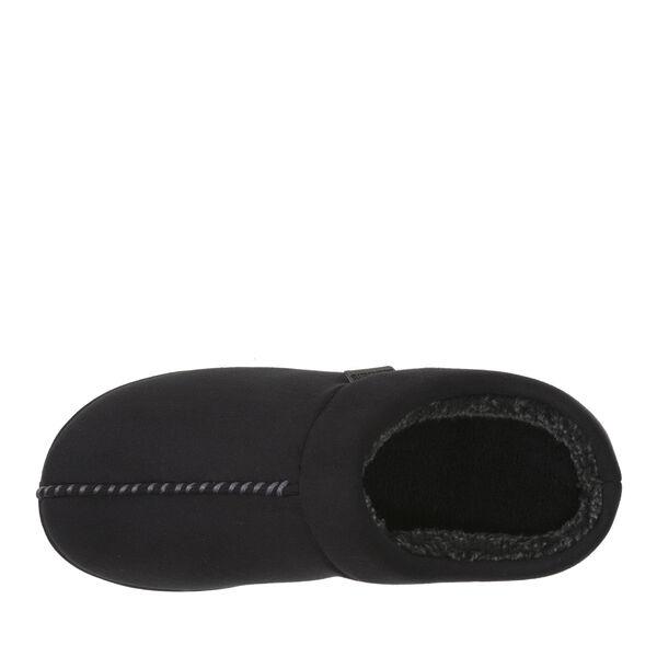 Microsuede Clog Slipper with Top Seam