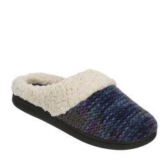 Space-Dye Knit Clog Slipper