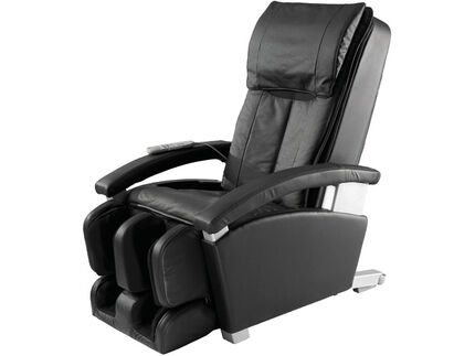 Panasonic EP1285KL Modern Collection Massage Chair With Chiro Mode Black