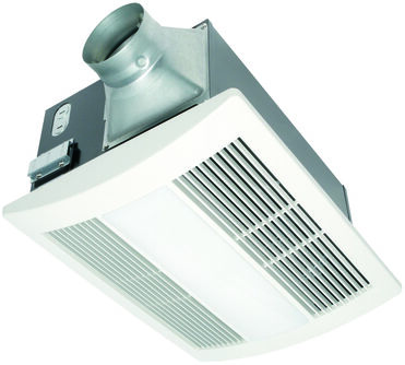 Panasonic Fv 11vhl2 Whisperwarm 110 Cfm Ceiling Mounted