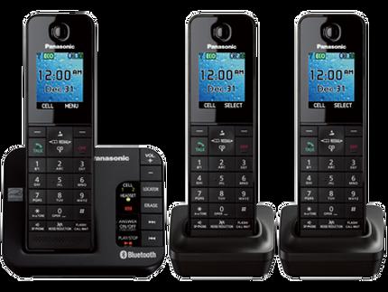 Panasonic Kx Tgh263b Link2cell Bluetooth Enabled Phone