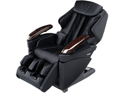 Panasonic Real Pro Ultra Massage chair side view - black