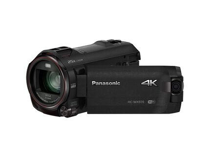 4K Ultra HD Camcorder with Built-in Twin Video Camera: HC-WX970