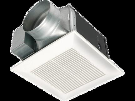 panasonic fv 15vql5 whisperlite 150 cfm ceiling mounted fan light. Black Bedroom Furniture Sets. Home Design Ideas