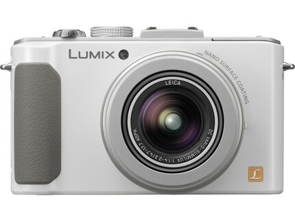 DMC-LX7W, White, HeroImage