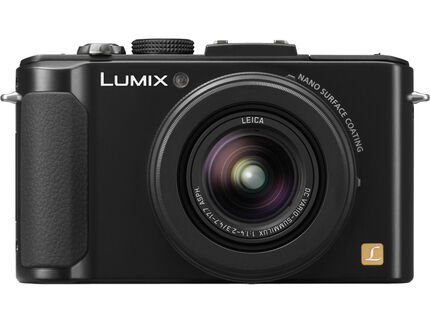 DMC-LX7K, Black, HeroImage