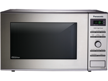 Panasonic  .8 Cu. Ft. Compact Countertop Microwave with Inverter Technology NN-SD372S Stainless NN-SD372S