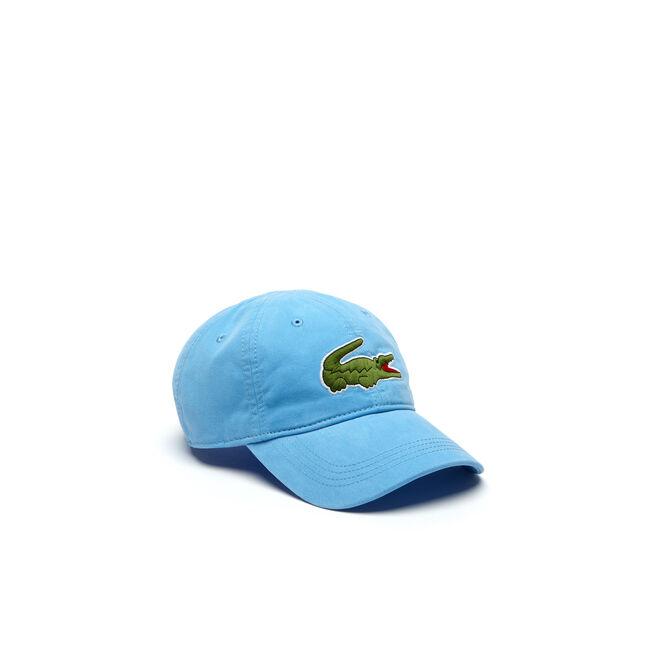 LACOSTE MEN S BIG CROC GABARDINE CAP bae85dadf61