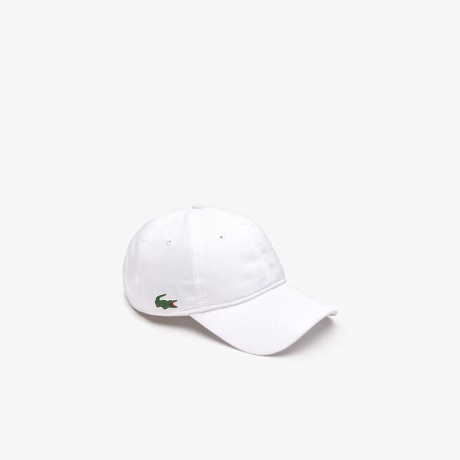 a21492d5c5a LACOSTE Men S Sport Cap In Solid Diamond Weave Taffeta