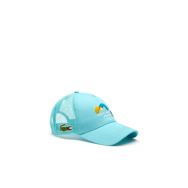 UNISEX SPORT MIAMI OPEN GABARDINE AND MESH TENNIS CAP
