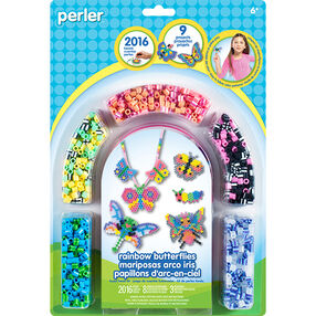 Rainbow Butterflies Fuse Bead Activity Kit_80-62871