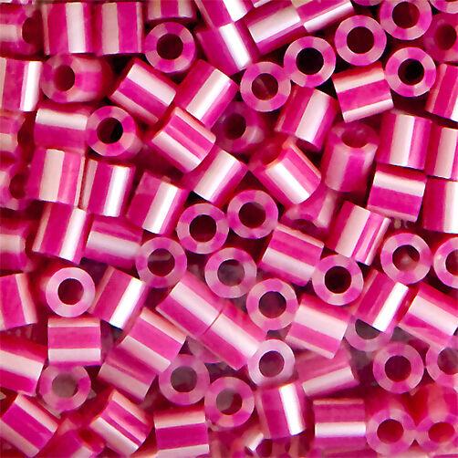 1000 Beads: Raspberry Pearl Stripe_80-15145