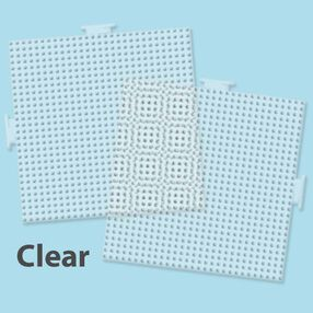 Large Clear Square Pegboards: 2 Ct_22613