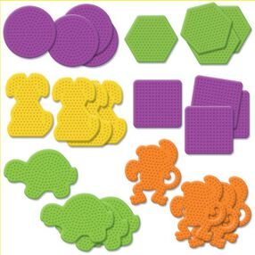 Small Basic & Animal Pegboards Assortment I: 24 Ct_22622