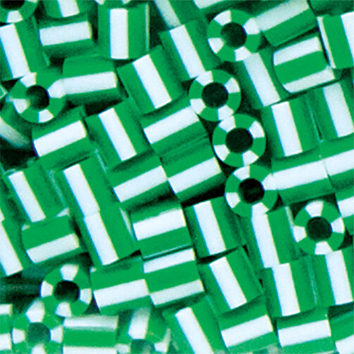 1000 Beads: Spearmint Stripe_80-15122