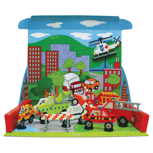 Emergency Vehicle Rescue Playset