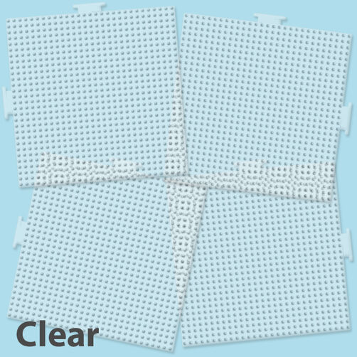 Large Clear Square Pegboards, 4 Ct_80-22666