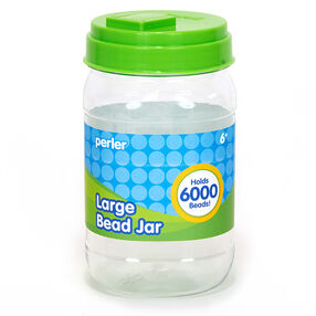 Large Bead Storage Jar, Holds 6000 Beads_80-22819