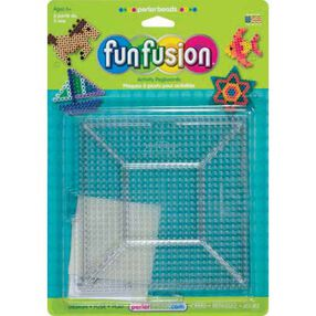 Large Clear Square Pegboards: 2 Ct