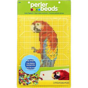 Super-Sized Clear Pegboard