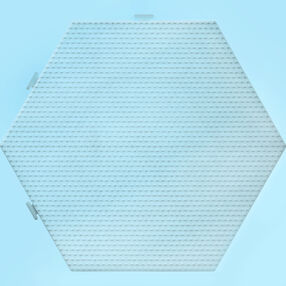 Super Hexagon Clear Pegboard_80-26056