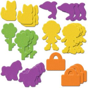 Small Novelty Pegboards Assortment lI: 24 Ct_22624