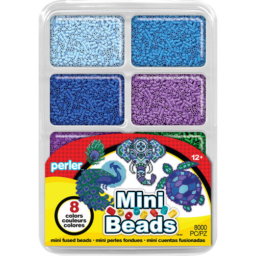Mini Beads Tray: Cool Colors_80-17526