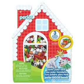 Santa Polar Bear Biggie Beads Activity Kit_80-72896