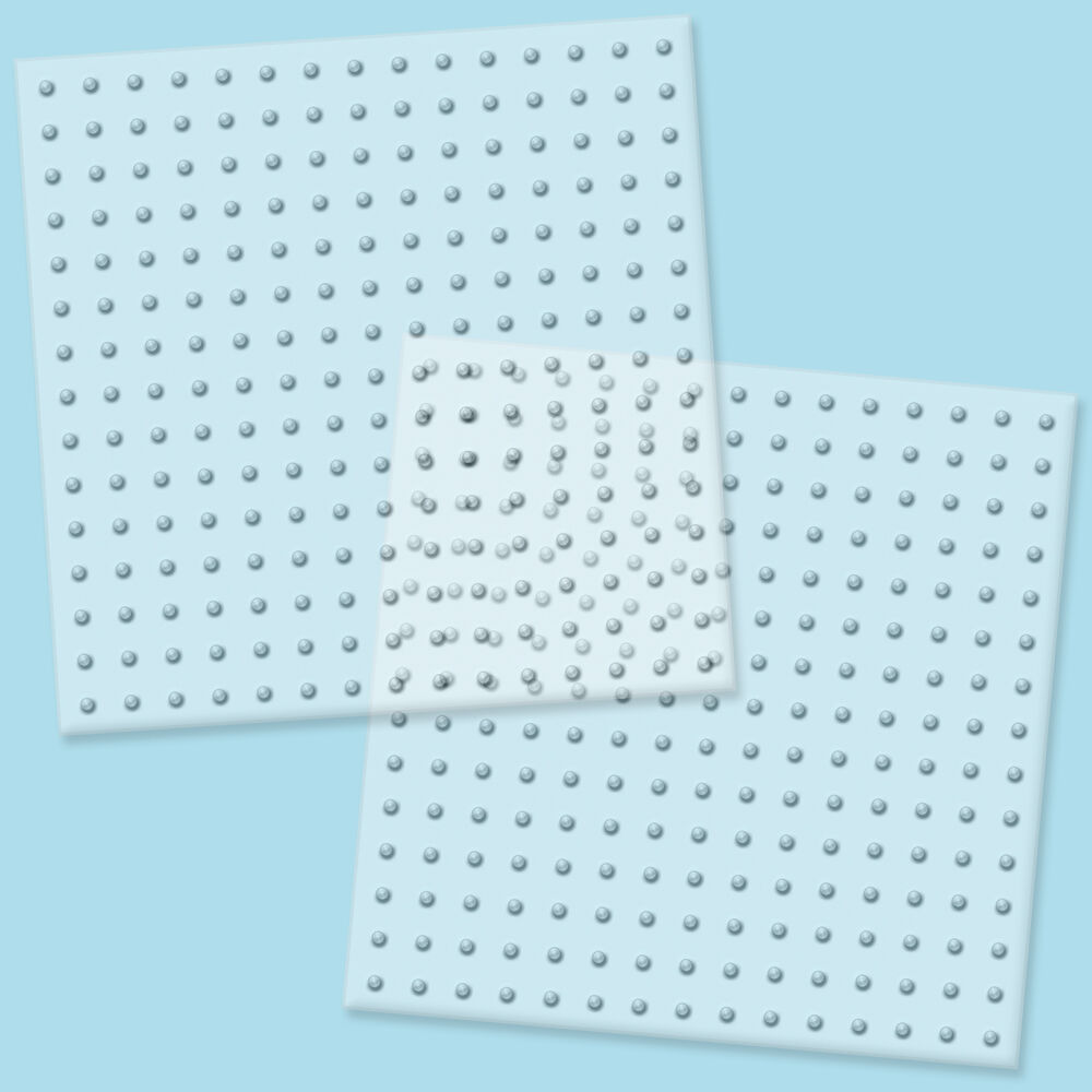 biggie beads clear pegboards 2 ct70712 - Peg Boards