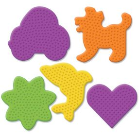 Small Fun Shaped Pegboards: 5 Ct_22628