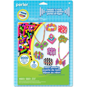 Neon Jewelry Beads 'n Rods Activity Kit_80-56010