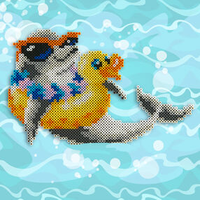 Dolphin and Ducky