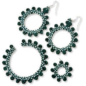 Zebra Jewelry Set