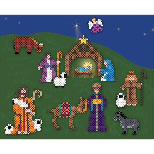 Nativity Perler Beads