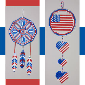 Patriotic Dreamcatchers