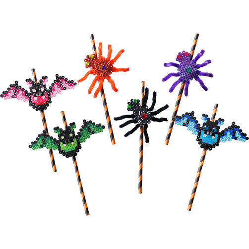 Spider and Bat Straws