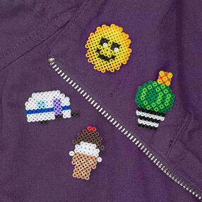 Mini Beads Pins
