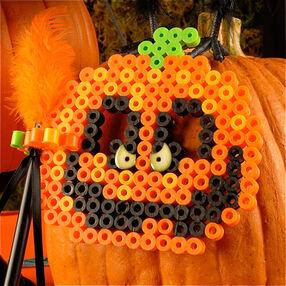 Biggie Beads Pumpkin Masks