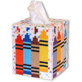 Crayon Tissue Box
