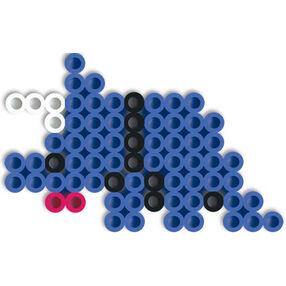 Biggie Beads Blue Dinosaur