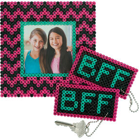My BFF Frame and Keychains