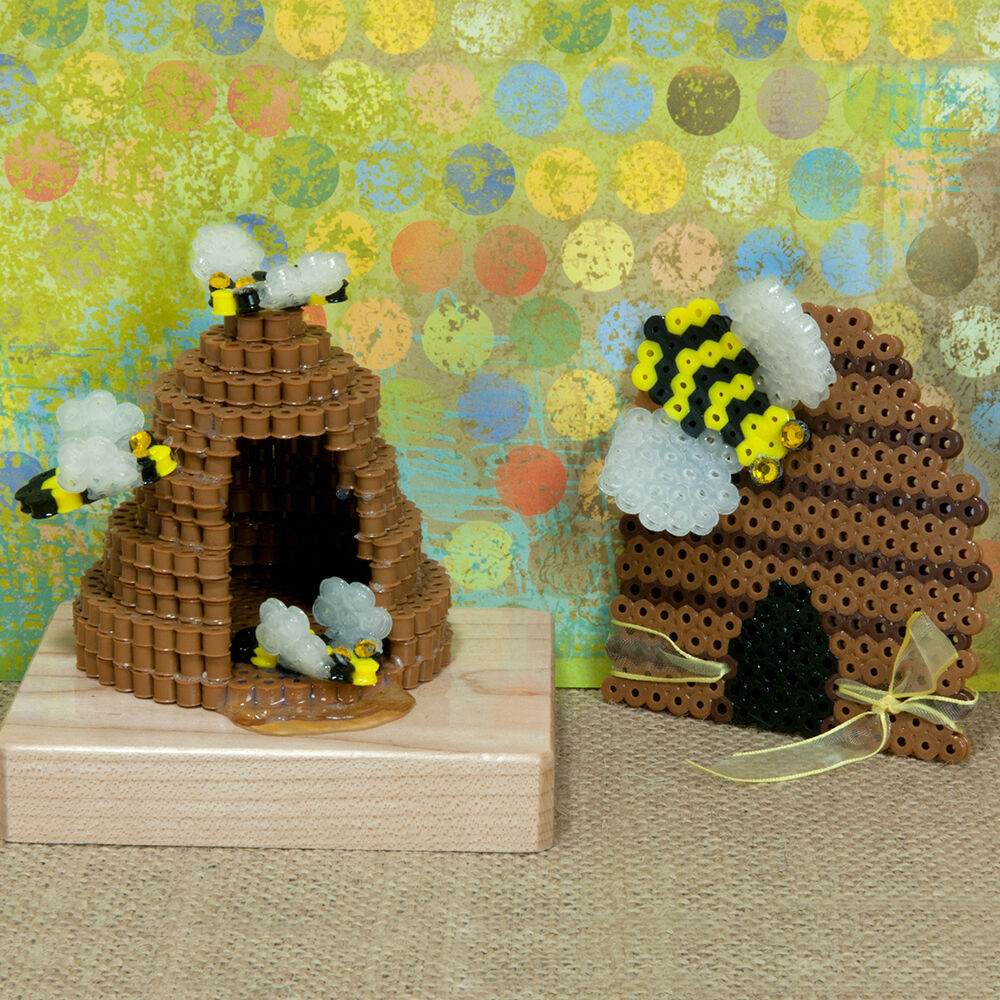 Busy As A Beehive Perler Beads