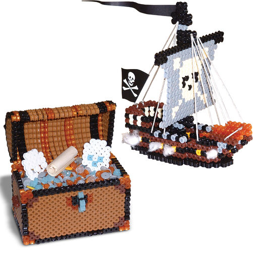 Pirate Ship and Treasure Chest