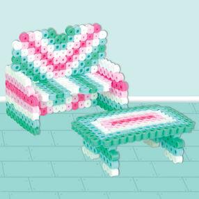 3D Dollhouse Sofa and Table
